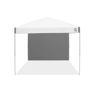 Recreational Sidewall - Straight - 10 x 10 ft - Ambassador™/Envoy™ - Steel Grey