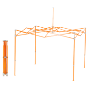 Eclipse™ 3.0 m x 3.0 m (10' x 10') Steel Orange Steel Frame