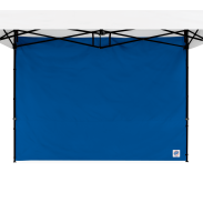 Standard Sidewall - 2.5m (8 ft) with Truss Clips - Royal Blue