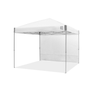 Recreational Sidewall - Straight - 10 x 10 ft - Ambassador™/Envoy™ - White
