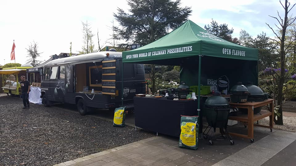 Big Green BBQ Tent by  E-Z UP