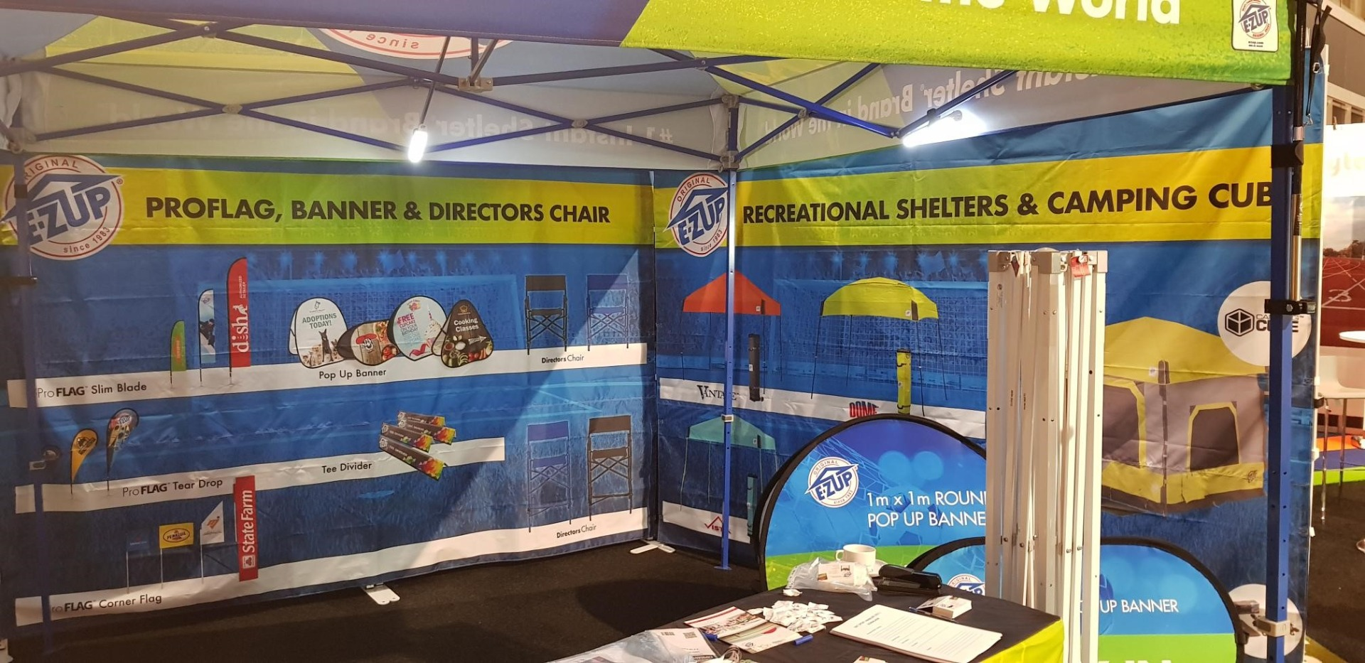 Exhibition Tent by E-Z UP