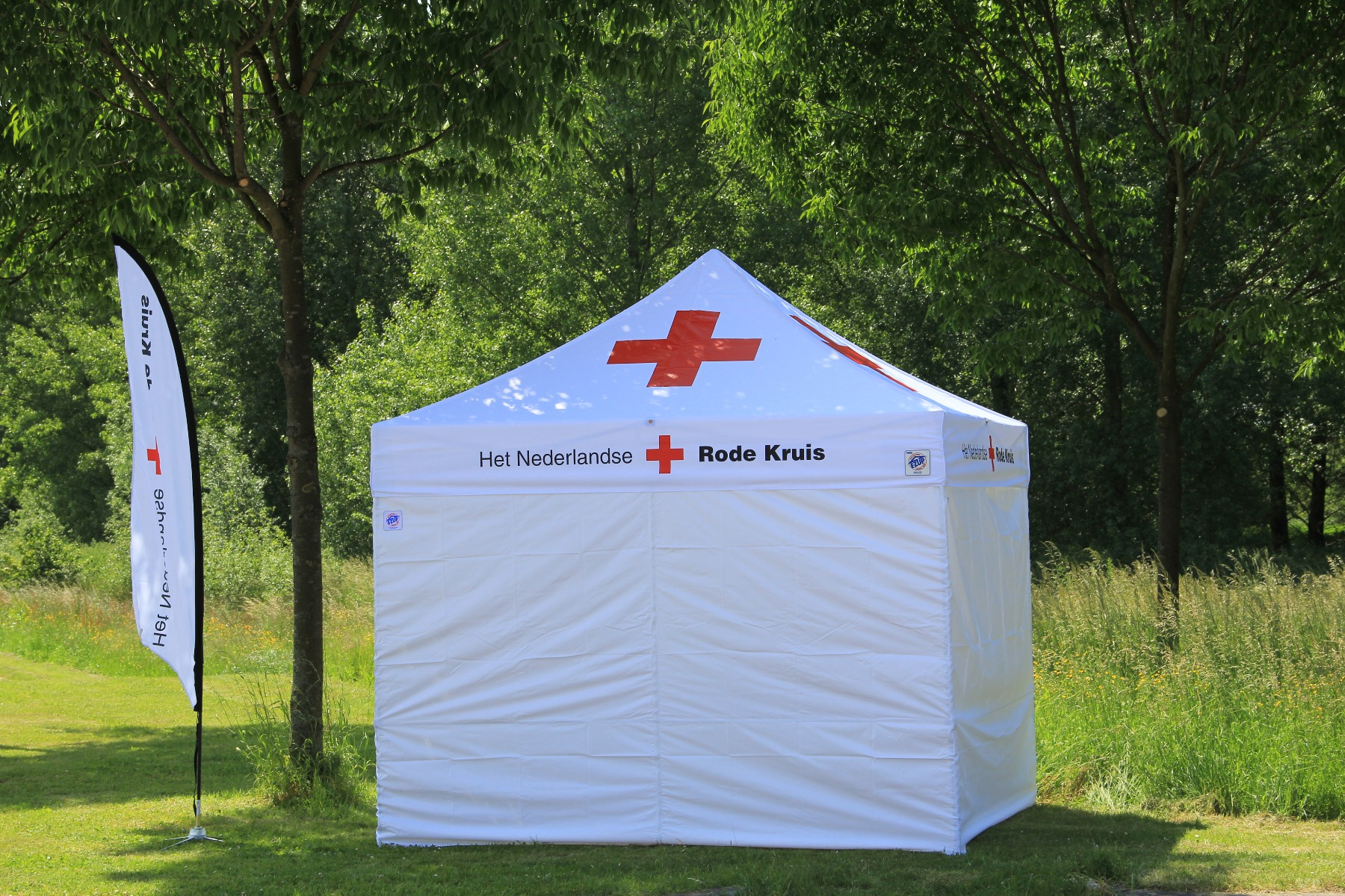 Red Cross Nederland by E-Z UP