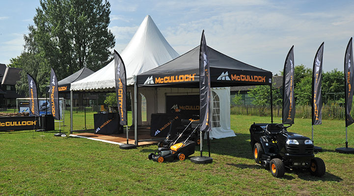 Presentatie Tent McMulloch by E-Z UP