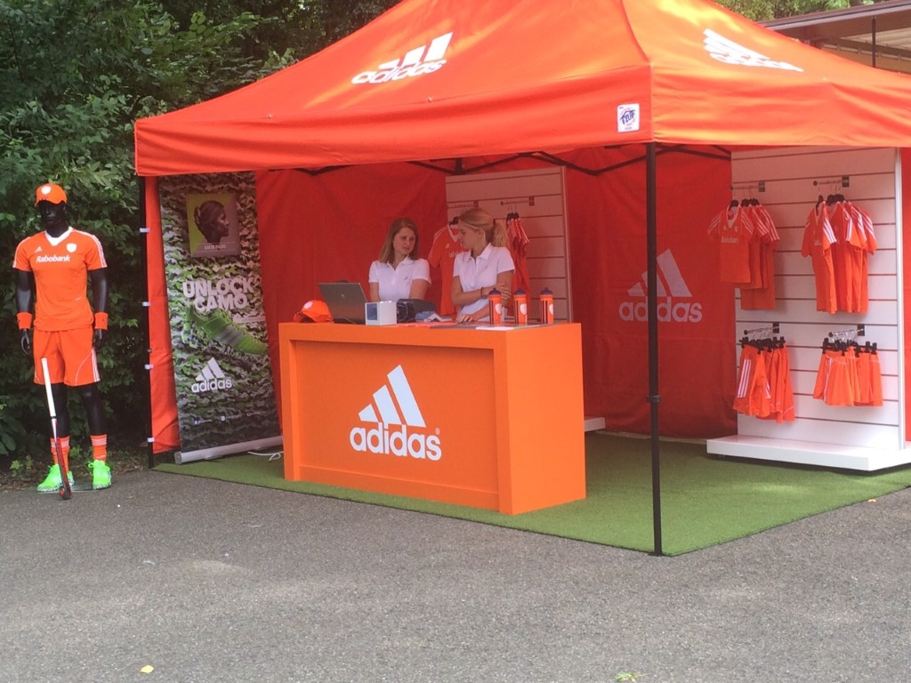 Adidas Promotional Tent by E-Z UP