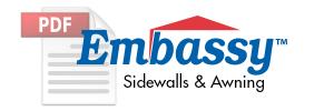 Embassy™ Sidewall & Awning