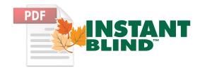 Instant Blind™